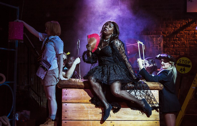 Moby Dick The Musical - Union Theatre - Brenda Edwards - Photo by Pamela Raith
