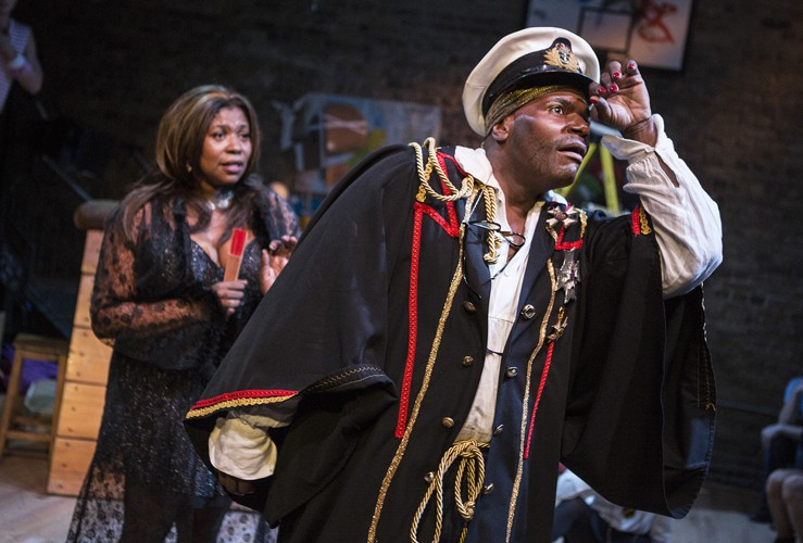 Moby Dick The Musical - Union Theatre - Brenda Edwards and Anton Stephans - Photo by Pamela Raith