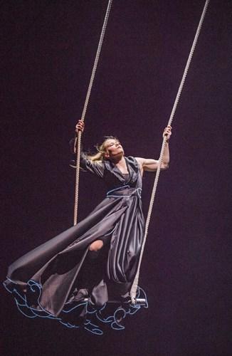 Enni Lymi - BIANCO - NoFit State Circus - Big Top -Southbank Centre - Photo By Tristram Kenton