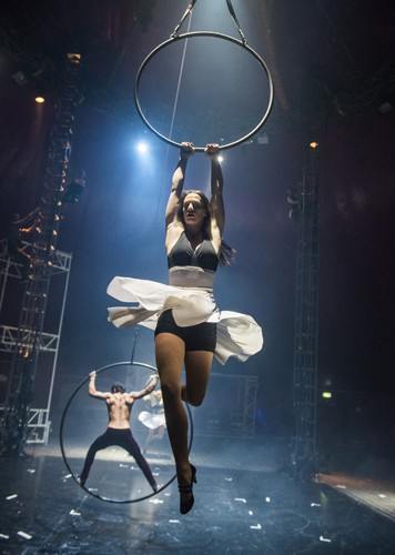 Jess O'Connor - BIANCO -NoFit State Circus - Big Top - Southbank Centre - Photo By Tristram Kenton