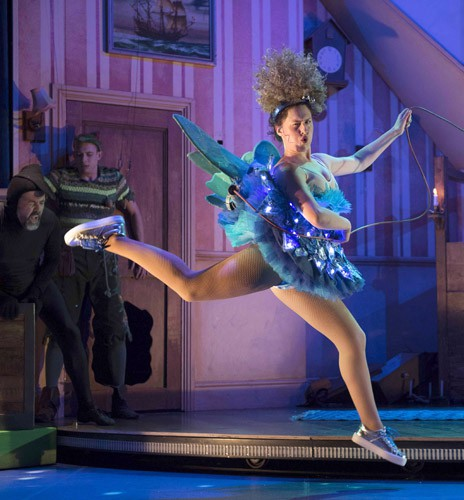 Peter Pan Goes Wrong - Adeline Waby (Annie) - image credit Alistair Muir