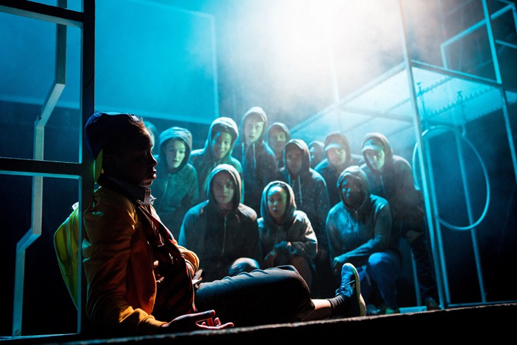National Youth Theatre Pigeon English - Image credit Helen Murray