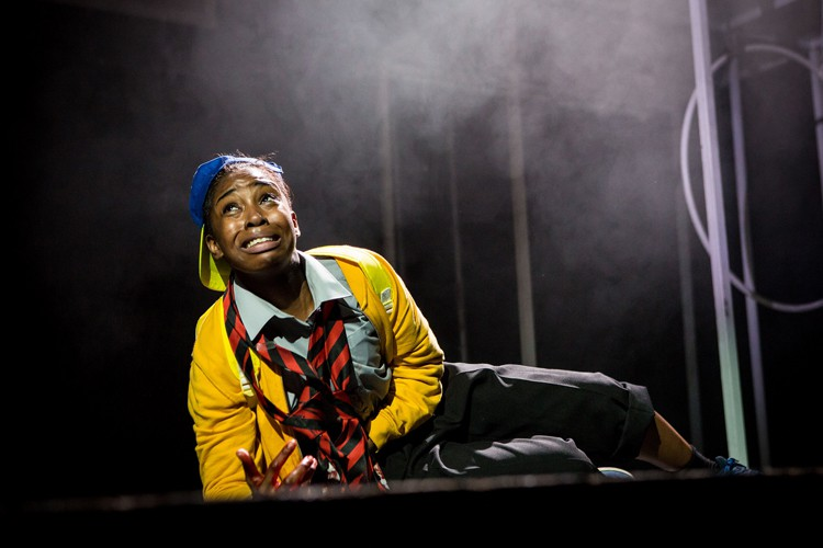 Seraphina Beh National Youth Theatre Pigeon English - Image credit Helen Murray
