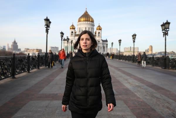 Pussy Riot (Nadya Tolokonnikova) - courtesy of Denis Sinyakov