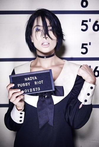 Pussy Riot (Nadya Tolokonnikova) - courtesy of Jonas Akerlund