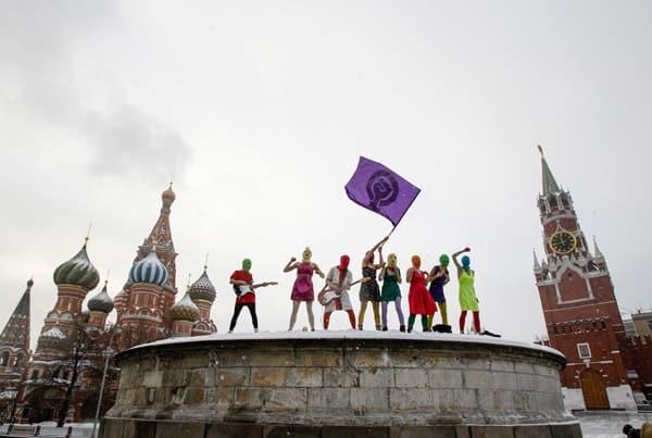Pussy Riot - courtesy of Denis Sinyakov