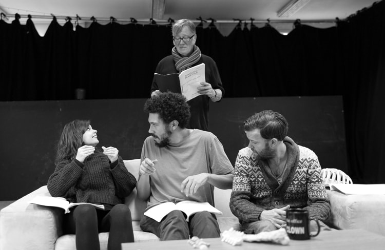 Gwyneth Keyworth, Joel Fry, Jeff Rawle, Tom Bennett - Photo by Darren Bell