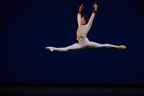 Bolshoi dancer Artemiy Belyakov in 'Celebration', courtesy Igor Zakharkin