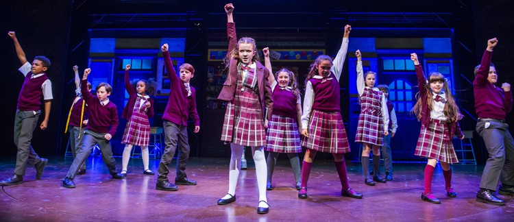 Kids from School of Rock photo by Tristram Kenton