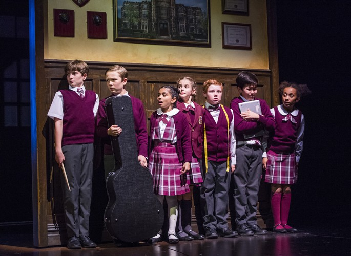The kids from School of Rock photo by Tristram Kenton