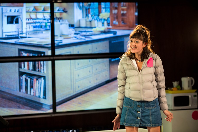 Sophie Wu as Lulu in Shopping and F***king Lyric Hammersmith Photo by Helen Murray