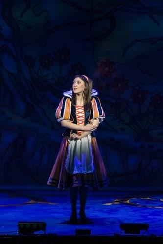 Naomi Cowe as Snow White