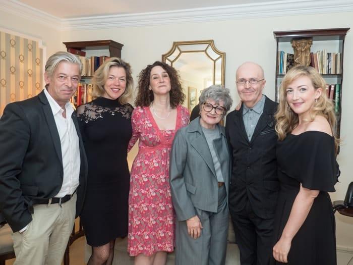 Simon Lee, Janie Dee, Rachel Kavanaugh, Julia McKenzie, Edward Seckerson and Alex Young Credit David Ovenden-min