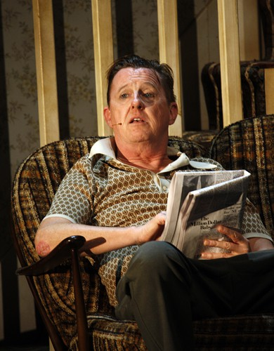 Jimmy's Da (Kevin Kennedy) in The Commitments photo credit Johan Persson