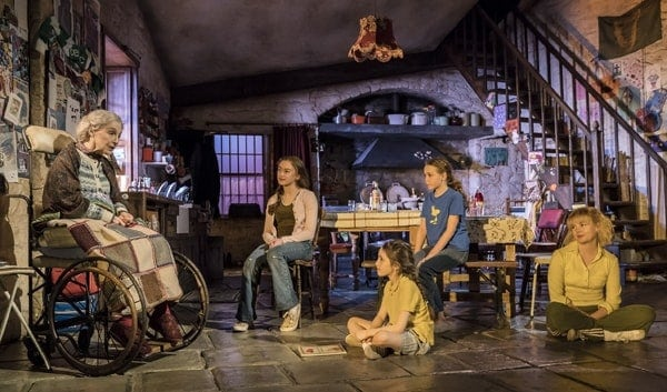 Current cast of The Ferryman. Credit Johan Persson