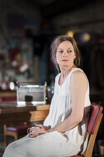 Catherine McCormack in the current cast of The Ferryman. Credit Johan Persson