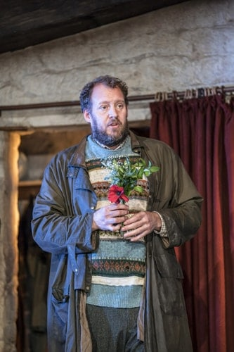 Justin Edwards in the current cast of The Ferryman. Credit Johan Persson