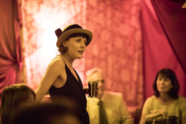 Holly Beasley-Garrigan (Jordan Baker) in The Great Gatsby by Helen Maybanks