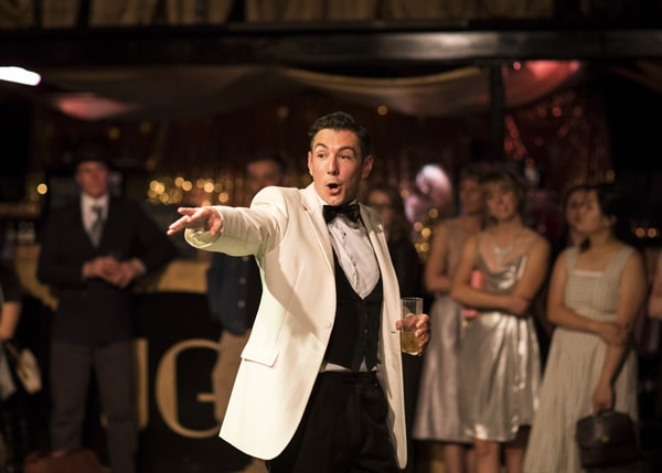 Ollie Tilney (Jay Gatsby) in The Great Gatsby by Helen Maybanks