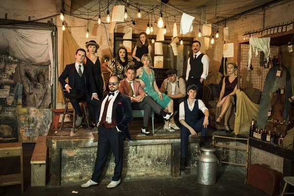 The cast of The Great Gatsby Photo by Helen Maybanks