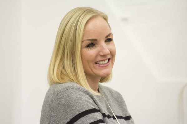 Kerry Ellis in rehearsals for THE IMPORTANCE OF BEING EARNEST. Photo credit James Findlay (4)