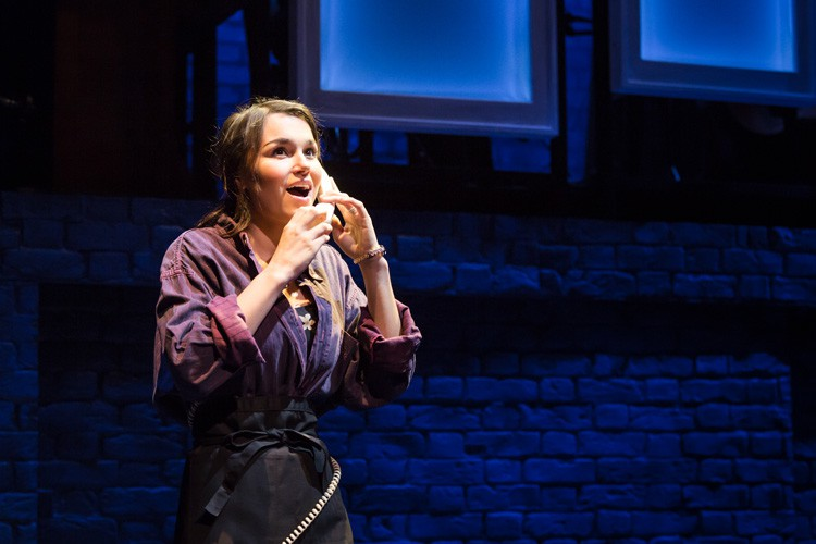 Samantha Barks as Cathy in THE LAST FIVE YEARS at St James Theatre. Photo Scott Rylander (2)