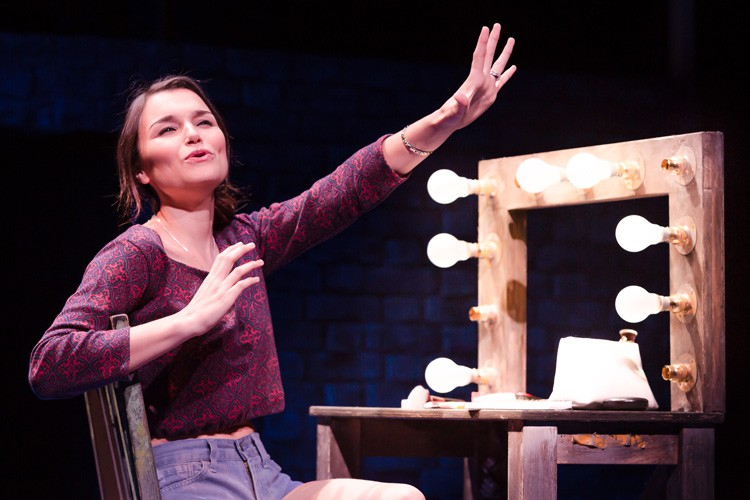 Samantha Barks as Cathy in THE LAST FIVE YEARS at St James Theatre. Photo Scott Rylander (3)