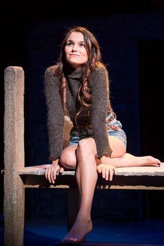 Samantha Barks as Cathy in THE LAST FIVE YEARS at St James Theatre. Photo Scott Rylander