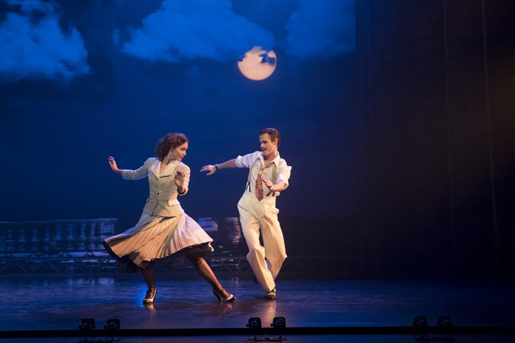 THE RED SHOES. Ashley Shaw 'Victoria Page' and Sam Archer 'Boris Lermontov'. Photo by Johan Persson
