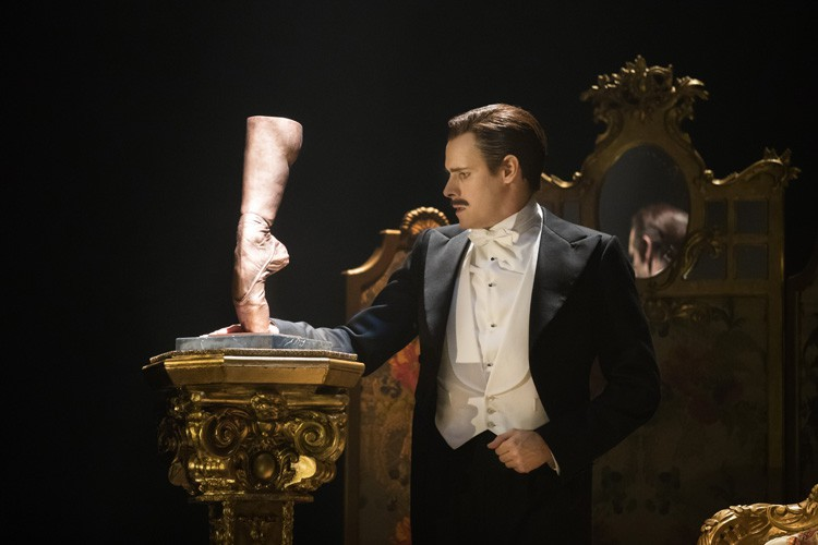THE RED SHOES. Sam Archer 'Boris Lermontov'. Photo by Johan Persson