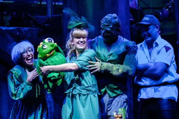 THE TOXIC AVENGER THE MUSICAL - Natalie Hope, Emma Salvo, Mark Anderson, Oscar Conlon-Morrey Photo Irina Chira