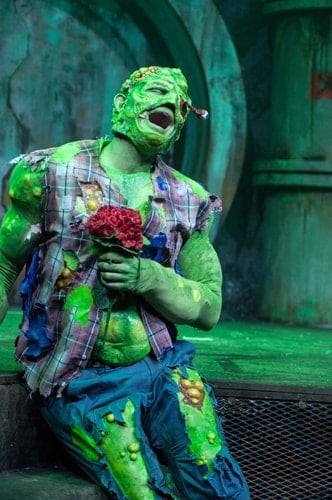THE TOXIC AVENGER THE MUSICAL - Mark Anderson as Toxie Photo Irina Chira