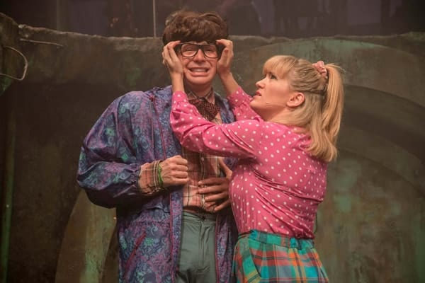 THE TOXIC AVENGER THE MUSICAL - Mark Anderson and Emma Salvo Photo Irina Chira