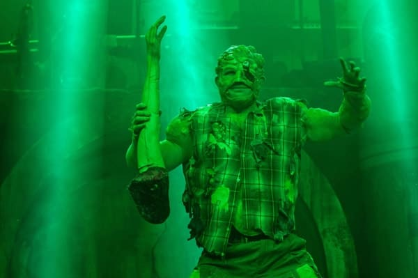 THE TOXIC AVENGER THE MUSICAL Mark Anderson as Toxie Photo Irina Chira