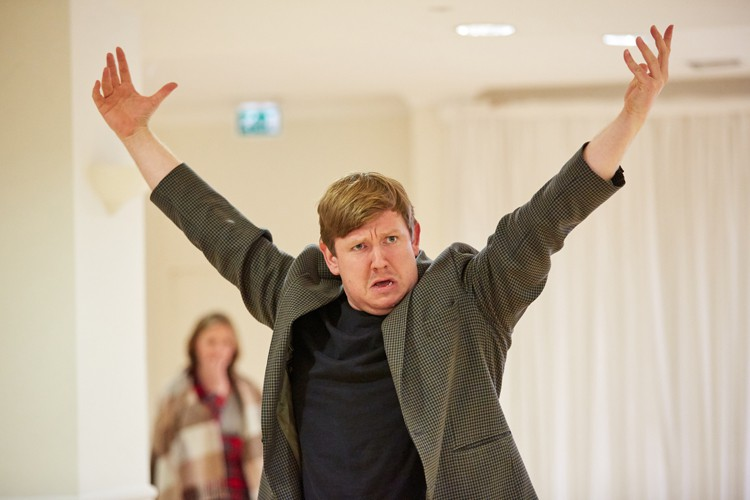 The Wind in the Willows at the Rose Theatre. Jamie Baughan (Toad) Photo by Mark Douet.