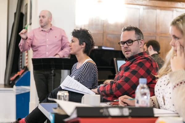 Woman in White - Simon Holt (Musical Director), Cressida Carre (Choreographer), Thom Southerland (Director) Photo Darren Bell
