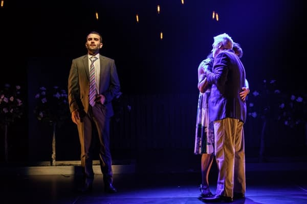 Frantic Assembly Things I Know To Be True: Arthur Wilson John McArdle and Cate Hamer Credit Manuel Harlan