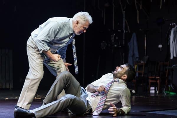 Frantic Assembly Things I Know To Be True: John McArdle as Bob and Arthur Wilson as Ben Credit Manuel Harlan