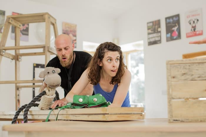 Tiddler and Other Terrific Tales - Brian Hargreaves and Lauren Silver (courtesy of Paul Blakemore)