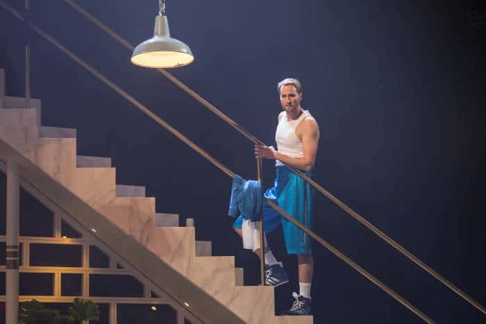 Twelfth Night - Oliver Chris as Orsino, image by Marc Brenner