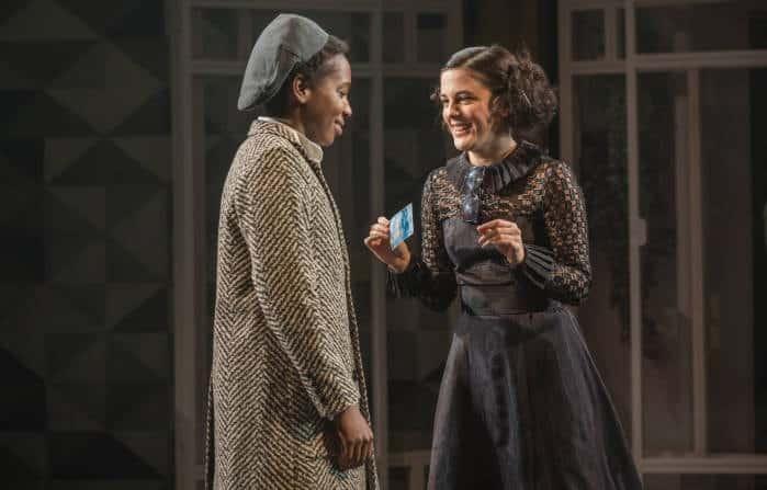 Twelfth Night - Tamara Lawrance as Viola, Phoebe Fox as Olivia, image by Marc Brenner