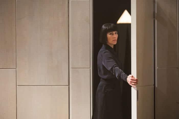 Twelfth Night - Tamsin Greig as Malvolia, image by Marc Brenner