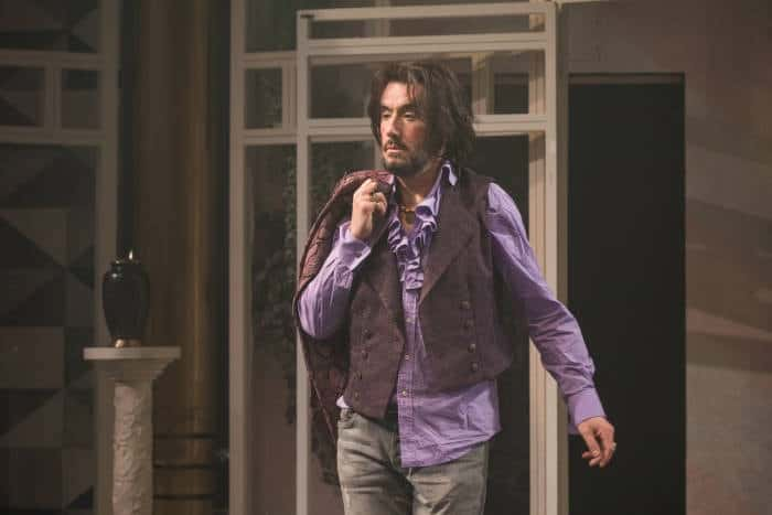 Twelfth Night Tim McMullan as Sir Toby Belch, image by Marc Brenner