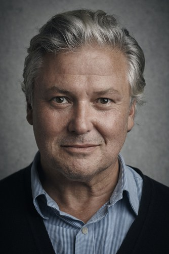 Conleth Hill plays George in Edward Albee's Who's Afraid of Virginia Woolf - Credit Charlie Gray