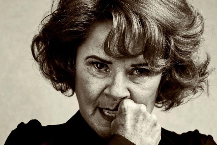 Imelda Staunton as Martha in Edward Albee's Who's Afraid of Virginia Woolf in the West End