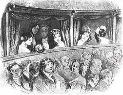 Theatre Audience Cartoon