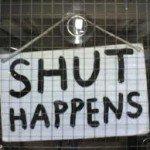 Shut Sign