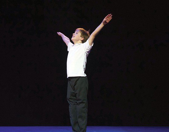 Billy Elliot performed at The Palace Theatre Victoria