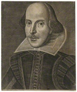 William Shakespeare by Martin Droeshout