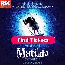 Book Matilda The Musical Tickets Cambridge Theatre London
